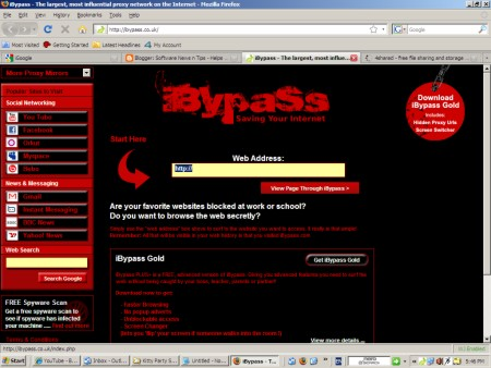 Bypass any firewall restriction using iBypass Gold Proxy ...